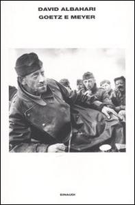 Libro Goetz e Meyer David Albahari