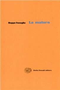 Malora (plaquette) - Carlo Cassola - copertina