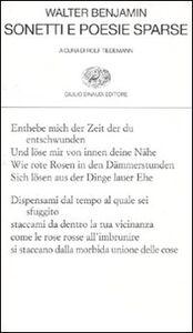 Libro Sonetti e poesie sparse Walter Benjamin