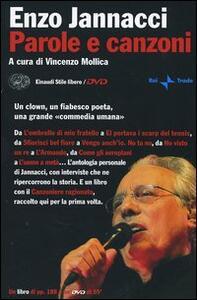 Parole e canzoni. Con DVD - Enzo Jannacci - copertina
