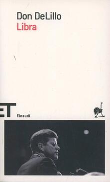 Libra - Don DeLillo - copertina