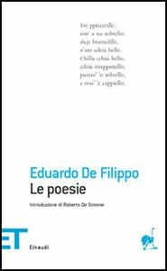 Foto Cover di Le poesie, Libro di Eduardo De Filippo, edito da Einaudi