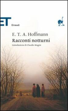 Racconti notturni - Ernst T. A. Hoffmann - copertina