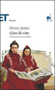Giro di vite - Henry James - copertina