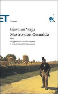 Mastro don Gesualdo - Giovanni Verga - copertina