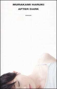 After dark - Haruki Murakami - copertina