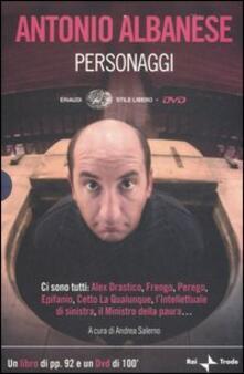 Amatigota.it Personaggi. Con DVD Image