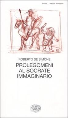 Camfeed.it Prolegomeni al Socrate immaginario Image