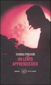 Libro Un lento apprendistato Thomas Pynchon