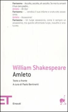 Amleto. Testo inglese a fronte - William Shakespeare - copertina
