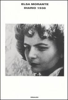 Diario 1938 - Elsa Morante - copertina