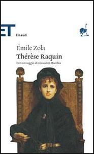 Thérèse Raquin - Émile Zola - copertina