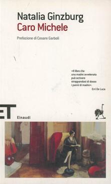 Caro Michele - Natalia Ginzburg - copertina