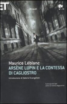 Arsène Lupin e la contessa di Cagliostro - Maurice Leblanc - copertina