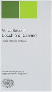 L' occhio di Calvino - Marco Belpoliti - copertina