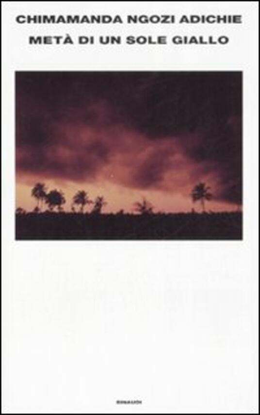 Metà di un sole giallo - Chimamanda Ngozi Adichie - copertina