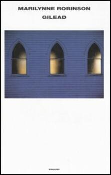 Gilead - Marilynne Robinson - copertina