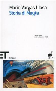 Storia di Mayta - Mario Vargas Llosa - copertina