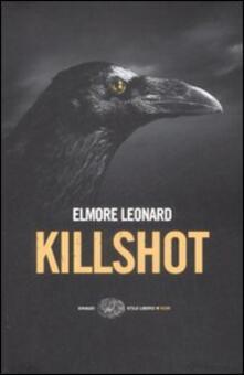 Killshot - Elmore Leonard - copertina
