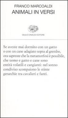 Animali in versi - Franco Marcoaldi - copertina