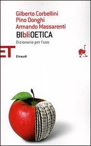 Libro BIbliOETICA. Dizionario per l'uso