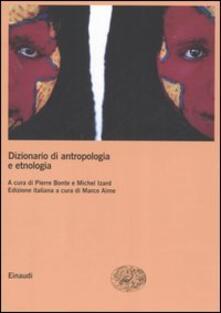Librisulrazzismo.it Dizionario di antropologia e etnologia Image