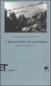 I racconti di guerra - Mario Rigoni Stern - copertina