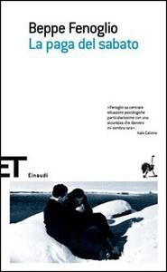 La paga del sabato - Beppe Fenoglio - copertina