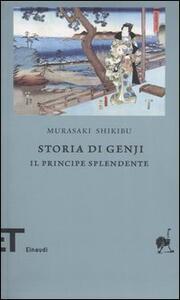 Storia di Genji. Il principe splendente. Romanzo giapponese dell'XI secolo - Shikibu Murasaki - copertina