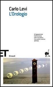 L' orologio - Carlo Levi - copertina