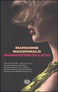 Libro Mangiatori di loto Marianne MacDonald