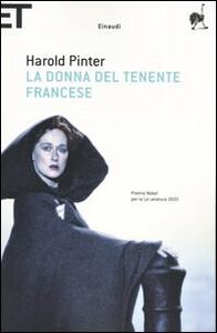 La donna del tenente francese - Harold Pinter - copertina