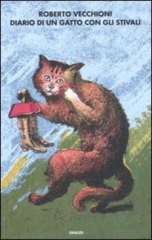 Diario di un gatto con gli stivali - Roberto Vecchioni - copertina