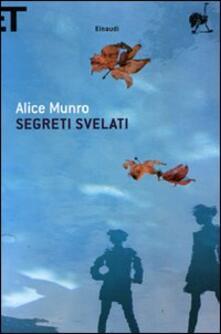 Segreti svelati - Alice Munro - copertina