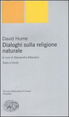 Associazionelabirinto.it Dialoghi sulla religione naturale. Testo inglese a fronte Image