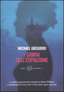 Libro I giorni dell'espiazione Michael Gregorio