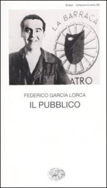 Il pubblico - Federico García Lorca - copertina
