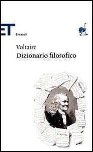 Dizionario filosofico - Voltaire - copertina