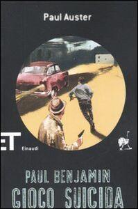 Libro Gioco suicida Paul Auster