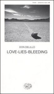 Libro Love-lies-bleeding Don DeLillo