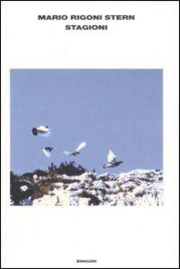 Foto Cover di Stagioni, Libro di Mario Rigoni Stern, edito da Einaudi