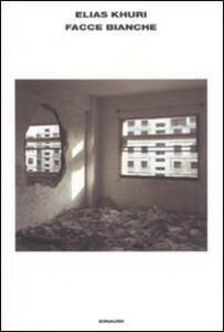 Facce bianche - Elias Khuri - copertina