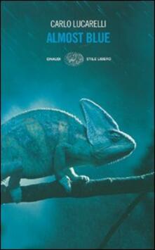 Almost blue - Carlo Lucarelli - copertina