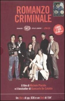 Romanzo criminale. Con DVD - Giancarlo De Cataldo - copertina