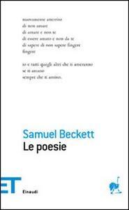 Poesie - Samuel Beckett - copertina