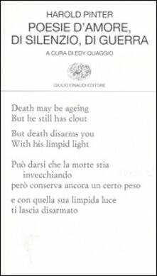 Voluntariadobaleares2014.es Poesie d'amore, di silenzio, di guerra. Testo inglese a fronte Image