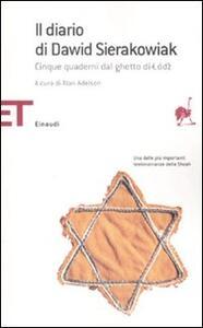 Il diario di Dawid Sierakowiak. Cinque quaderni dal ghetto di Lodz - copertina