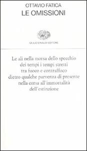 Le omissioni - Ottavio Fatica - copertina