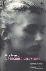 Il percorso dell'amore - Alice Munro - copertina