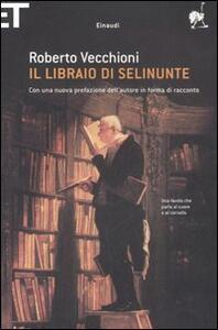 Il libraio di Selinunte - Roberto Vecchioni - copertina